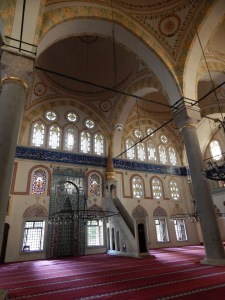 Interior of Piyale Pasha Mosque