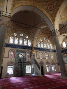 Interior of Piyale Pasha Mosque