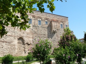 Byzantine Palace of the Porphyrogenitus - soon to open as an exhibition hall and conference centre