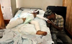 Palestinian child injured in Israeli bombing strike