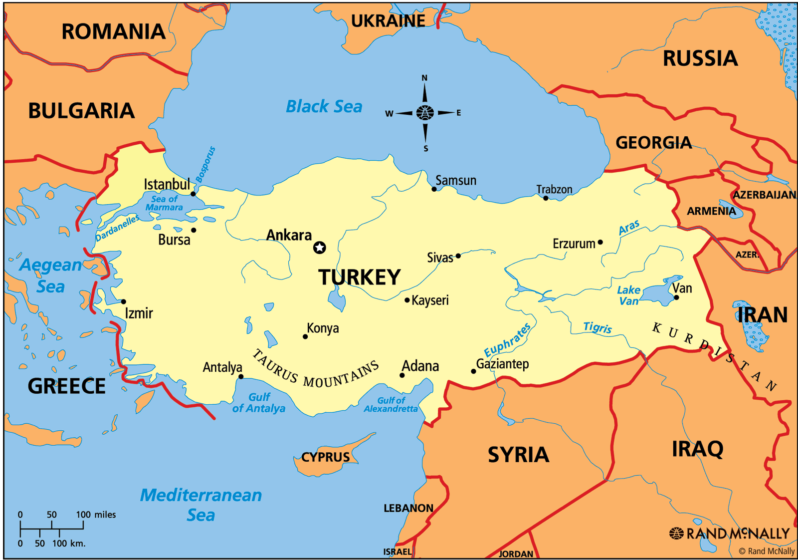 Map Of Turkey Go Map Of Iran Map Of Belarus Map Of Angola Map - What continent is syria in