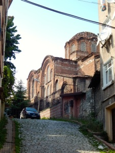 The 11th century church of Christ Pantepoptes