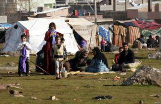 Syrian refugees in Urfa, Turkey
