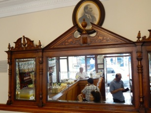 Boza cafe in the Vefa district
