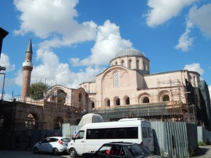 Molla Zeyrek Mosque - or the monastery church of Christ Pantokrator