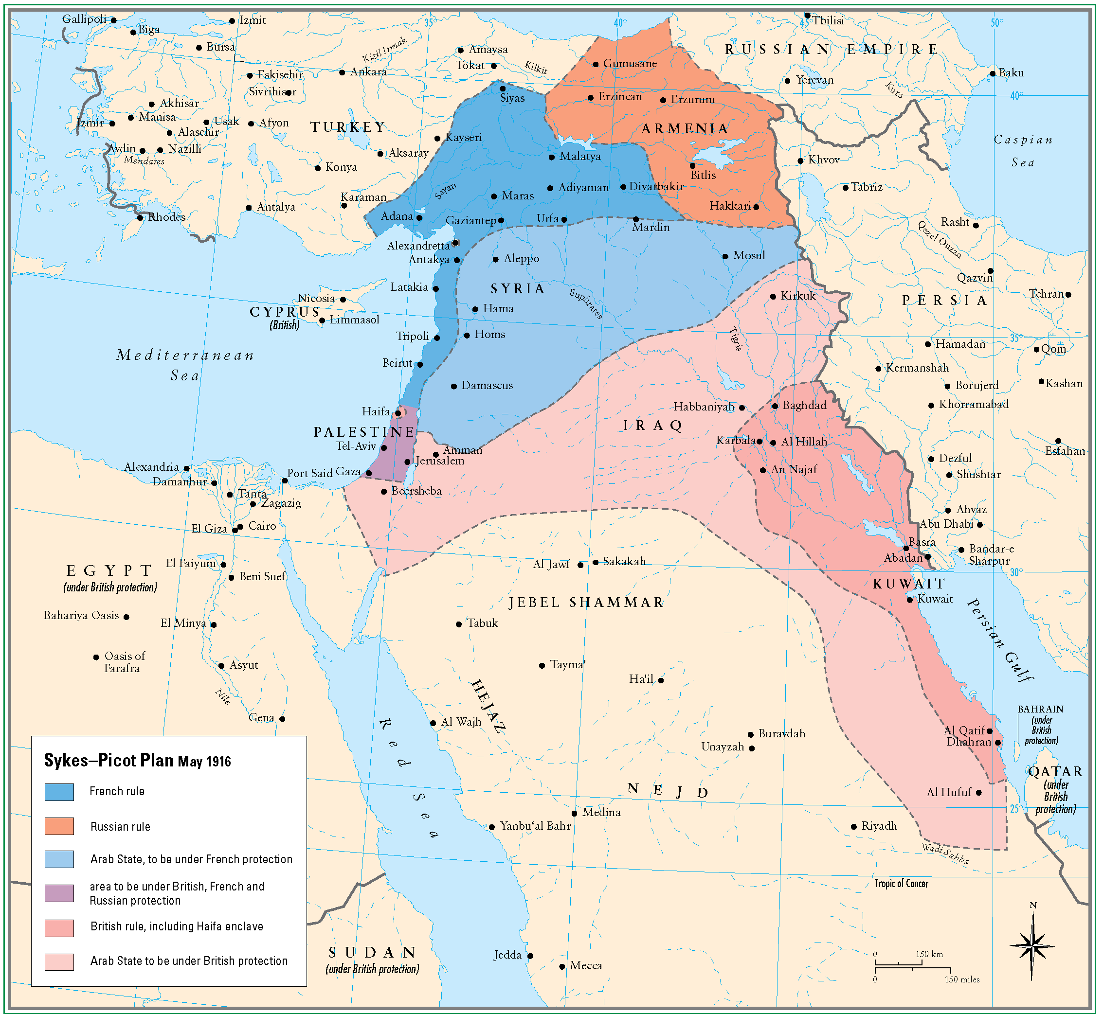 Istanbul Protests Map Sykes Picot Anlasmasi