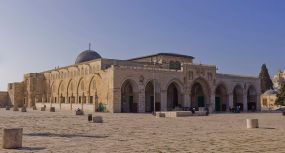 The Al-Aqsa Mosque - the 3rd holiest site in Islam