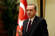 Turkey's president Tayyip Erdoğan