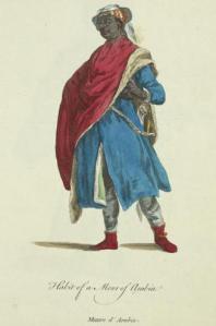16th century European image - 'A Moor of Arabia'