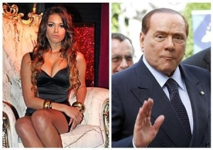 Italy's Berlusconi and friend - We don't know how lucky we are