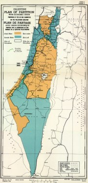 UN plan for the partition of Palestine