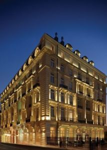 Istanbul's Pera Palace Hotel - recently restored to glory