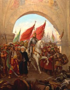 Ottoman army conquers Constantinople - May, 1453