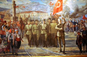 Ottoman army liberates Izmir - September, 1922