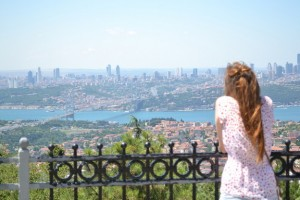 The view from Çamlica Hill