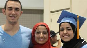 The victims were identified as 23-year-old Deah Shaddy Barakat, his 21-year-old wife, Yusor Mohammad, and her sister, 19-year-old Razan Mohammad Abu-Salha