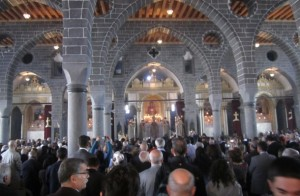 St Giragos Armenian Church, Diyarbakır. Recently restored and reopened for worship