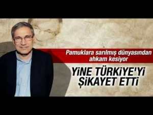 Nice pun! Wrapped in cotton wool but an 'expert' on criticising Turkey