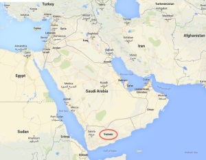 Where to find Yemen