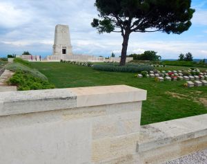 Anzac cemetery on Lone Pine Ridge
