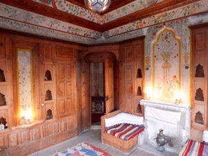 Interior of Yörük Köy house