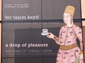 Coffee exhibition at Topkapı Palace