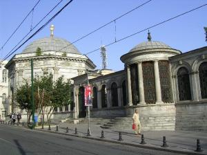 THe tomb of Abdül Hamid II in Istanbul