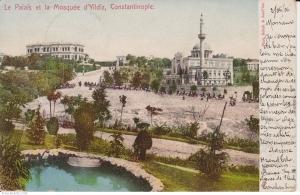 The last Ottoman palace