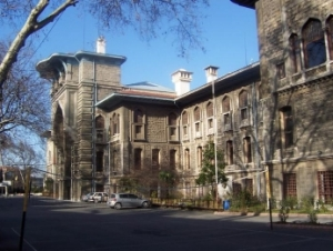 Istanbul High School - originally built by the Great Powers of Europe to administer the Ottoman debt