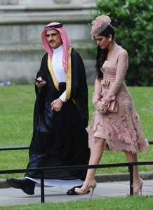 Saudi princess in a more enlightened Islamic country