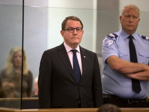 John Banks in the dock