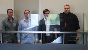 Dotcom and team in the dock