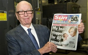 Rupert Murdoch bringing truth to the 'connected' generation