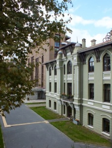The old power station on Bilgi University campus