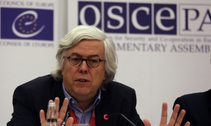 Andreas Gross from the EU advising Turkey what to do about those 2 million Syrian refugees