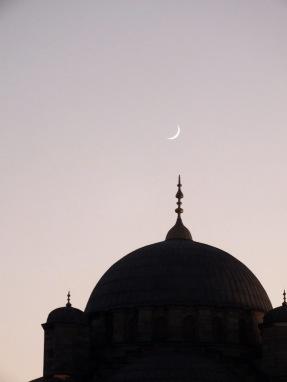 Yeni Cami+ hilal