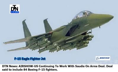 F-15 FIGHTER SAUDI DTN