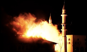 mosque-torched