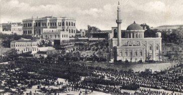 Yıldiz mosque & palace