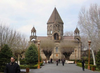 recently renovated Vordvots Vorotman Armenian Church in Istanbul