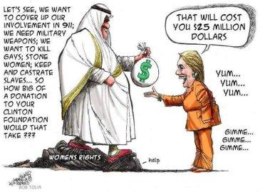 Saudi & hillary