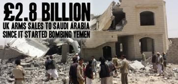 uk sells bombs to sauds