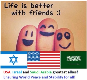 Image result for saudi arabia now friend of israel