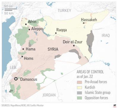 Afrin map