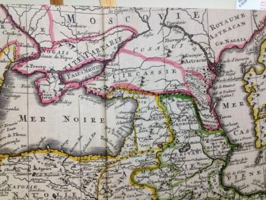 Circassian Map