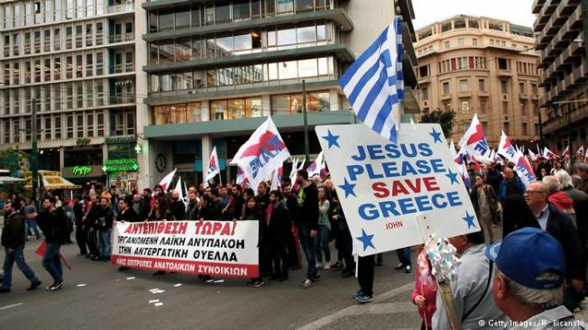 jesus save greece