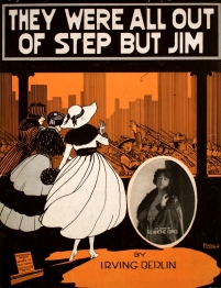They_Were_All_Out_of_Step_But_Jim_sheet_music_cover_art