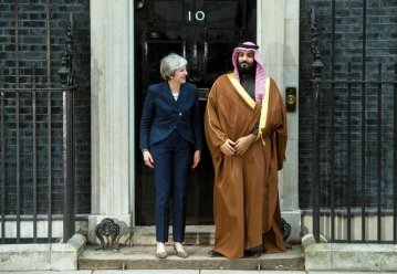 Teresa and saud salman
